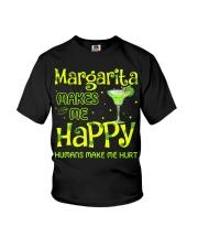 MARGARITA MAKES ME HAPPY Youth T-Shirt thumbnail