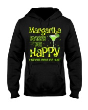 MARGARITA MAKES ME HAPPY Hooded Sweatshirt thumbnail