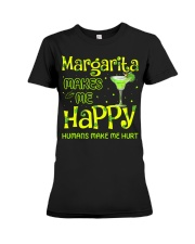 MARGARITA MAKES ME HAPPY Premium Fit Ladies Tee thumbnail