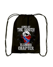 SONS OF THE SOUTH ILLINOIS Drawstring Bag tile