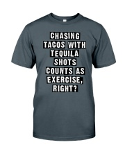 CHASING TACOS WITH TEQUILA Classic T-Shirt thumbnail
