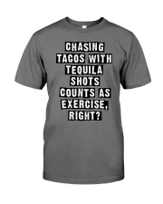 CHASING TACOS WITH TEQUILA Premium Fit Mens Tee thumbnail