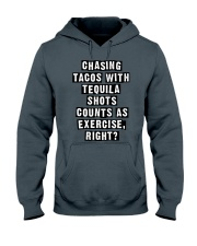 CHASING TACOS WITH TEQUILA Hooded Sweatshirt thumbnail