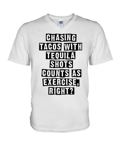 CHASING TACOS WITH TEQUILA