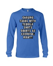 CHASING TACOS WITH TEQUILA Long Sleeve Tee thumbnail