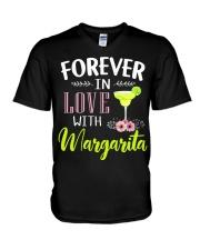 FOREVER IN LOVE WITH MARGARITA V-Neck T-Shirt thumbnail