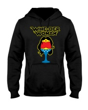 WINE-DER WOMAN Hooded Sweatshirt thumbnail