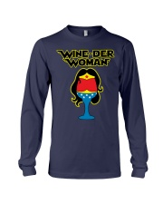 WINE-DER WOMAN Long Sleeve Tee tile