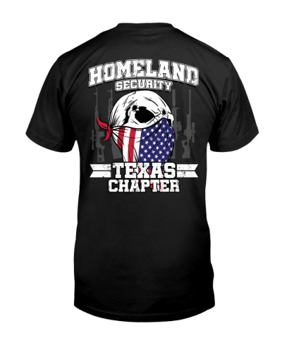 HOMELAND SECURITY TEXAS CHAPTER