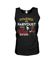 POWERED BY WINE  Unisex Tank thumbnail