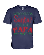 WHO NEEDS- BEST GIFT FOR CHRISTMAS V-Neck T-Shirt front