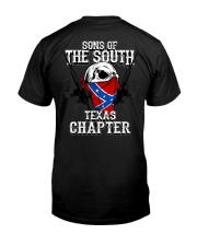 SONS OF THE SOUTH - TEXAS CHAPTER Classic T-Shirt back