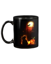 Cat Halloween Mug back