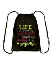 MARGARITA AND TACOS Drawstring Bag thumbnail