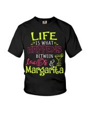 MARGARITA AND TACOS Youth T-Shirt thumbnail
