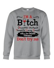 DON'T TRY ME Crewneck Sweatshirt thumbnail