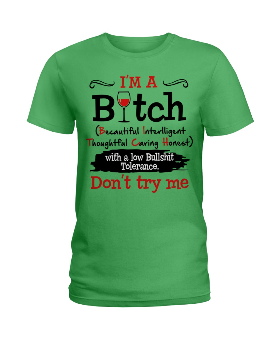 DON'T TRY ME Ladies T-Shirt