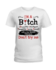 DON'T TRY ME Ladies T-Shirt front