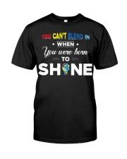 YOU WAS BORN TO SHINE Classic T-Shirt thumbnail