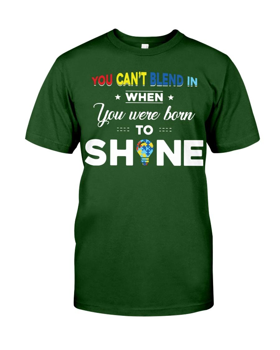 YOU WAS BORN TO SHINE Classic T-Shirt