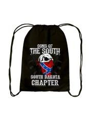 SONS OF THE SOUTH SOUTH DAKOTA Drawstring Bag tile