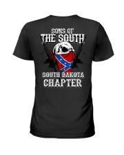 SONS OF THE SOUTH SOUTH DAKOTA Ladies T-Shirt tile