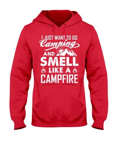 Smell like a campfire