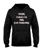 LESS MURDERY Hooded Sweatshirt thumbnail
