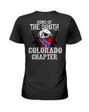 SONS OF THE SOUTH COLORADO Ladies T-Shirt tile