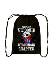 SONS OF THE SOUTH WISCONSIN Drawstring Bag tile