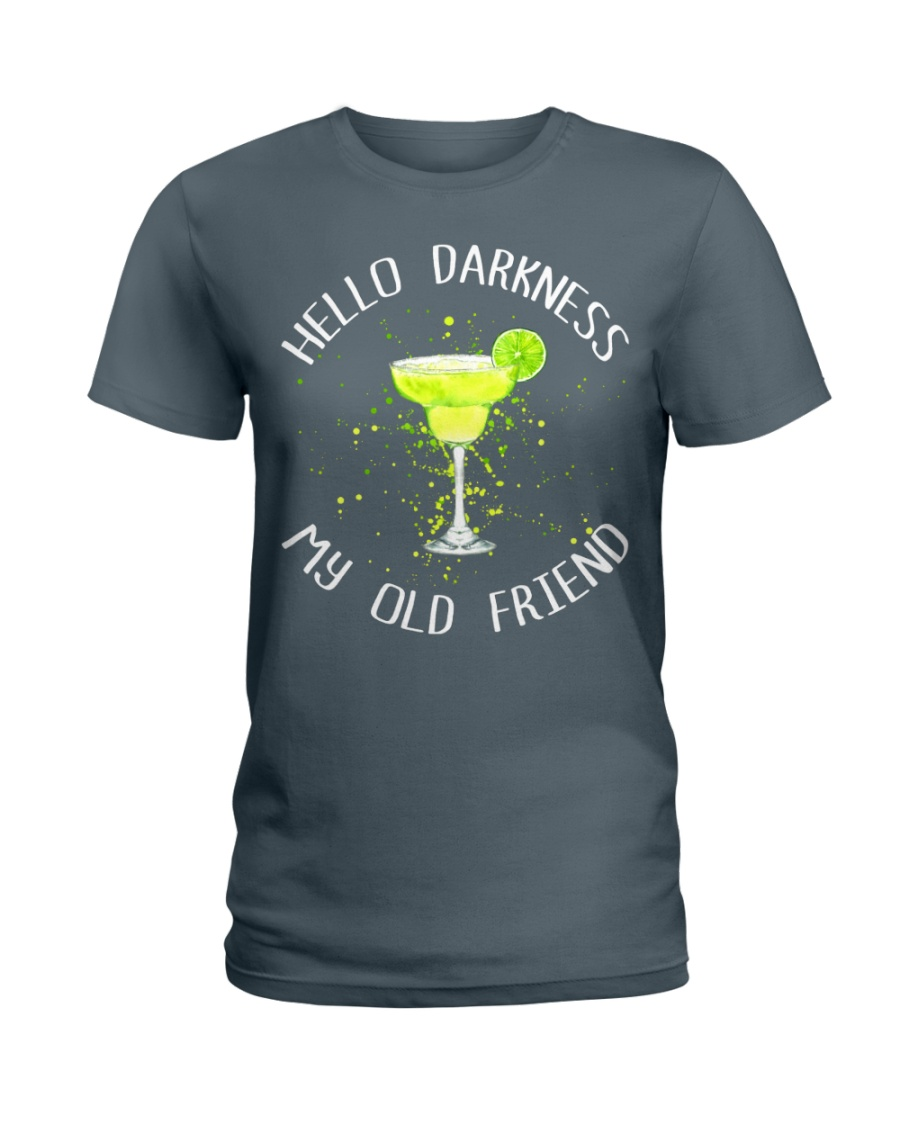 HELLO DARKNESS Ladies T-Shirt