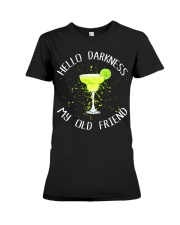 HELLO DARKNESS Premium Fit Ladies Tee thumbnail