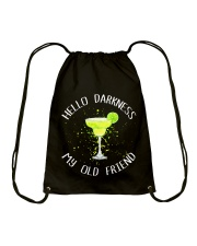 HELLO DARKNESS Drawstring Bag thumbnail
