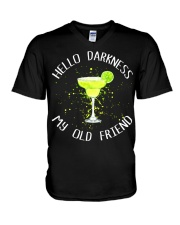 HELLO DARKNESS V-Neck T-Shirt thumbnail
