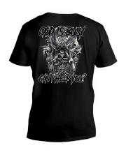 GOD IS BUSY V-Neck T-Shirt thumbnail
