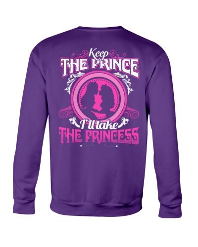 KEEP THE PRINCE I'LL TAKE THE PRINCESS