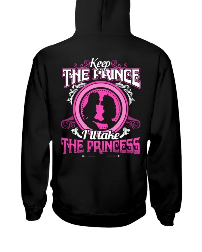 KEEP THE PRINCE I'LL TAKE THE PRINCESS