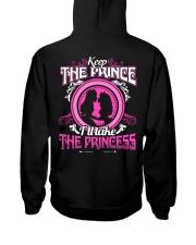 KEEP THE PRINCE I'LL TAKE THE PRINCESS Hooded Sweatshirt thumbnail