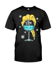 THE WINE NEVER BOTHERED ME ANYWAY Classic T-Shirt thumbnail