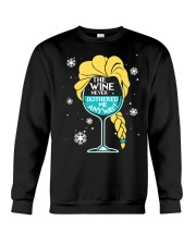 THE WINE NEVER BOTHERED ME ANYWAY Crewneck Sweatshirt thumbnail