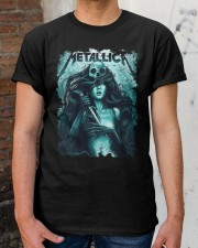 FOR METAL MUSIC LOVERS Classic T-Shirt apparel-classic-tshirt-lifestyle-30