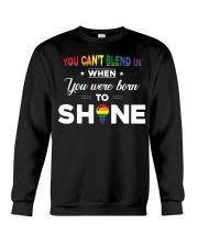 YOU WAS BORN TO SHINE Crewneck Sweatshirt thumbnail