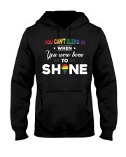 YOU WAS BORN TO SHINE Hooded Sweatshirt thumbnail