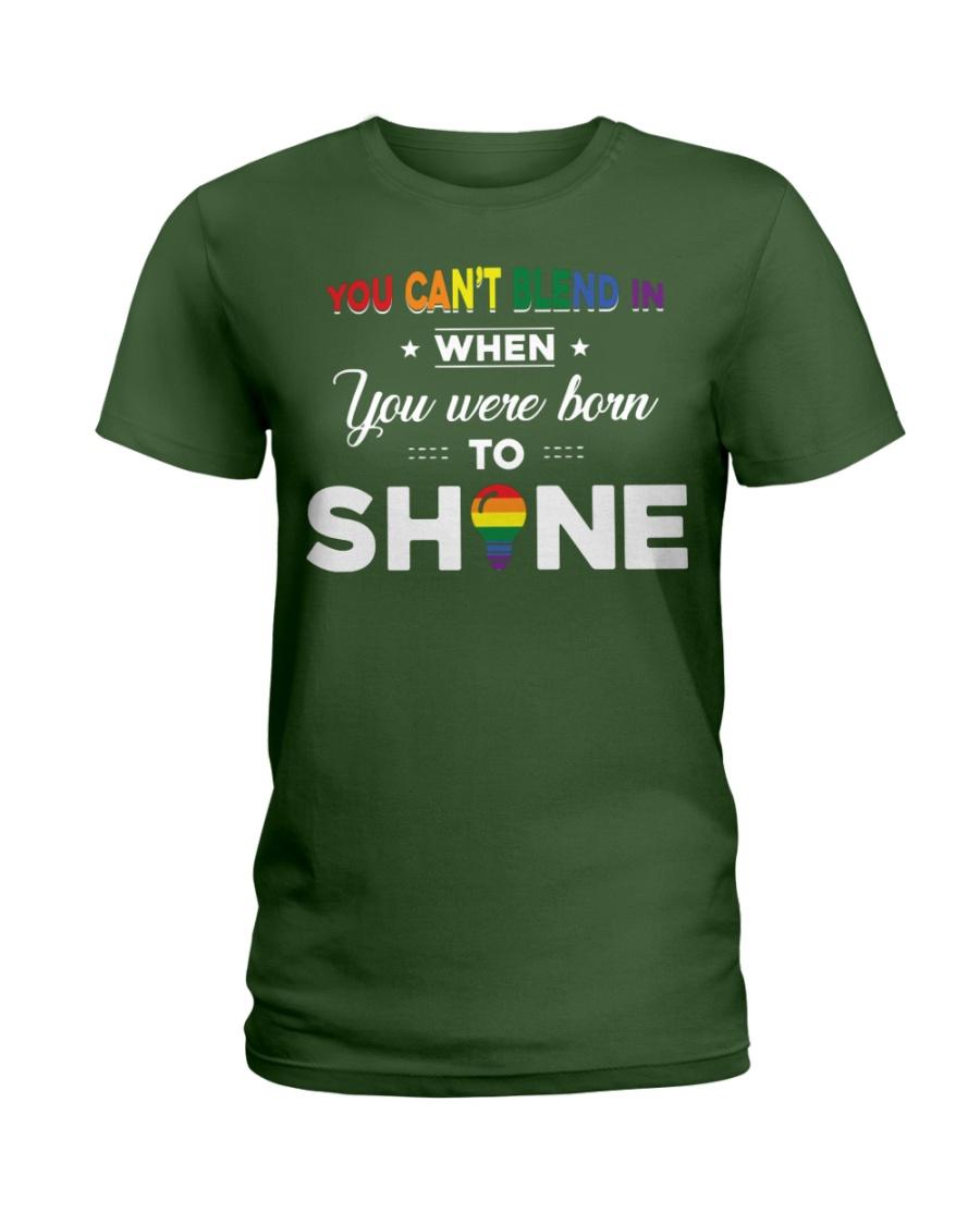 YOU WAS BORN TO SHINE Ladies T-Shirt