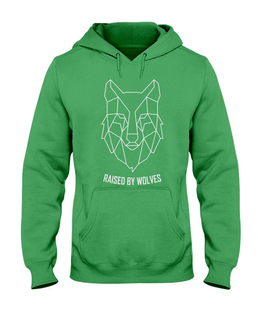 RAISED BY WOLF Hooded Sweatshirt