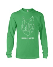 RAISED BY WOLF Long Sleeve Tee front