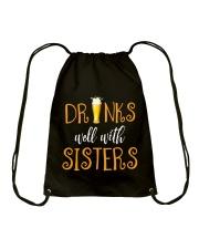 DRINKS WELL Drawstring Bag thumbnail