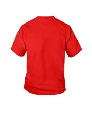 Keep Calm And Hug Panda Youth T-Shirt back