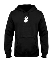 Keep Calm And Hug Panda Hooded Sweatshirt tile