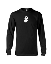 Keep Calm And Hug Panda Long Sleeve Tee thumbnail